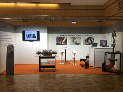 Messestand Inspector Systems